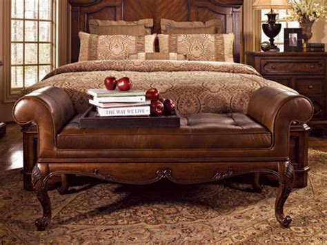 Bench Bedroom by Leather Bedroom Bench