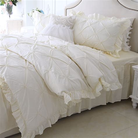white ruffle comforter popular white ruffled comforter buy cheap white ruffled