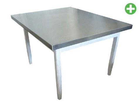 plateau de table de cuisine cuisine inox plateau de table inox