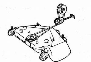 John Deere 214 Mower Deck Belt Diagram