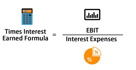 times interest earned formula calculator excel template