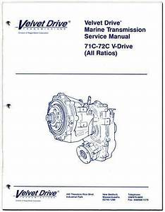Service Repair Parts Manual Borg Warner Velvet Drive V