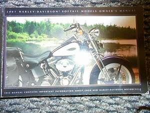 Used Harley Davidson 2001 Softail Models Official Owners
