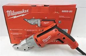 Cizalla para corte de metal Cizalla de metal Milwaukee para Calibre 18 Modelo 6852 20