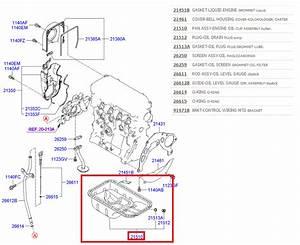 Hyundai Getz I10 Atos Kia Picanto Engine Sump Pan Sump Oil Bowl 2151002510 New