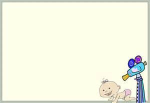 Baby Shower Border Clip Art Free