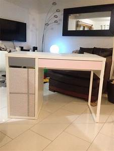 Bureau Fille Ikea : trendy lovely bureau petite fille ikea bureau ikea transformer en un joli petit bureau with ~ Teatrodelosmanantiales.com Idées de Décoration