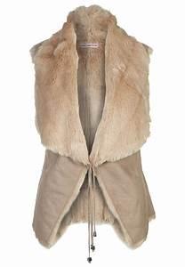 Manteau Fourrure Sans Manche : veste sans manche fausse fourrure ~ Dallasstarsshop.com Idées de Décoration