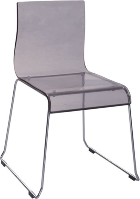 sale grey acrylic dining chair side outdoor