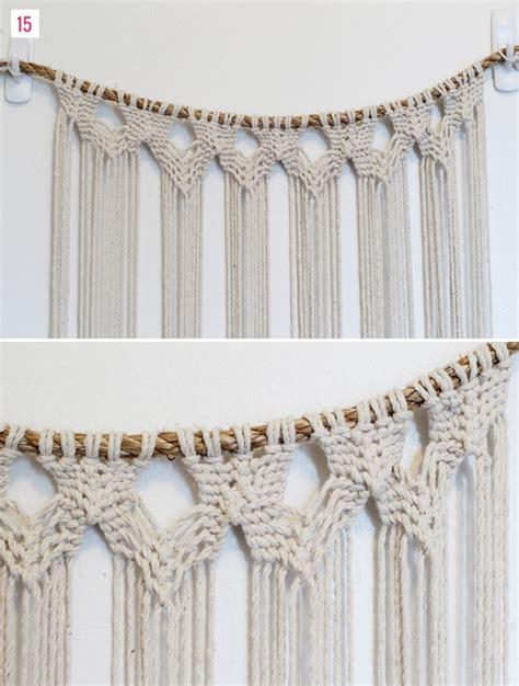 Free Curtain Crochet Patterns by Diy Macrame Hanging Green Wedding Shoes Weddings