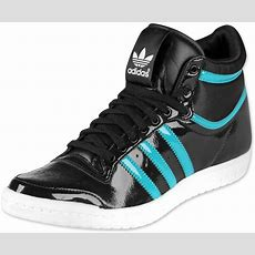 Adidas Top Ten High Sleek Bow W Chaussures Noir Turquoise