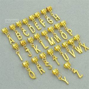 online get cheap metal alphabets aliexpresscom alibaba With gold letter beads for bracelets
