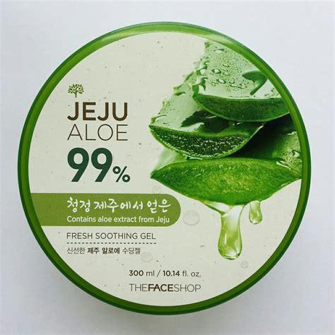 Harga The Shop Aloe Vera Di Counter jual original the shop jeju aloe vera soothing gel
