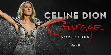 celine dion courage world rogers arena