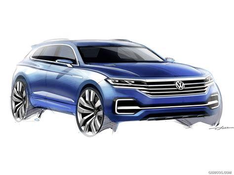 2018 Volkswagen T Prime Gte Concept Design Sketch Hd