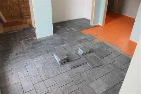 cleaning bathroom tile floors avente tile installing a slate tile floor