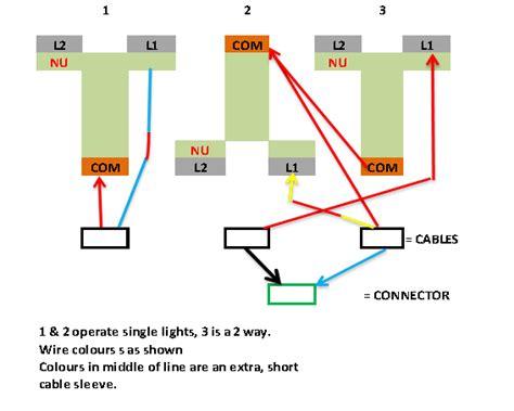 Wiring Gang Way Light Switch Diynot Forums