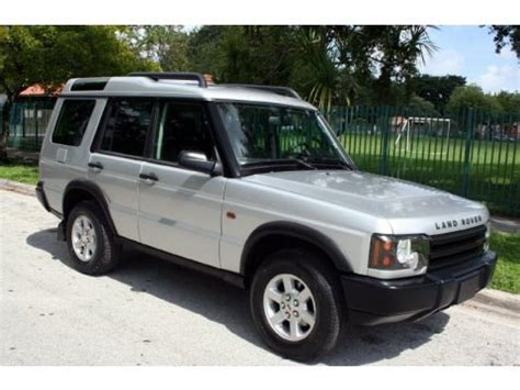 2004 Land Rover Discovery Specs by 2004 Land Rover Discovery S Data Info And Specs