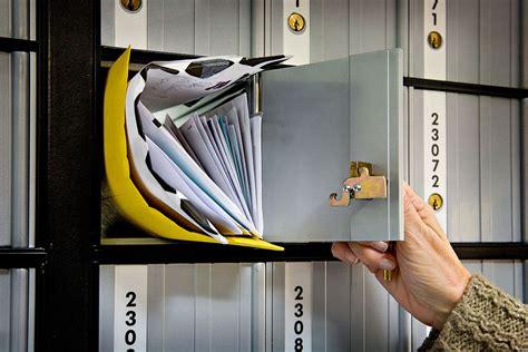 bureau post it post office box