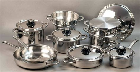 pc induction pro waterless cookware set   usa cookware set waterless cookware