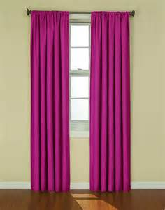 thermaback kendall rod pocket curtain panel contemporary curtains by meijer