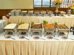 wedding tablecloth ideas an impression way to apply the buffet decorating ideas house interior design