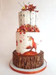 wedding cake decorating ideas best 25 autumn cake ideas on fall cakes tree