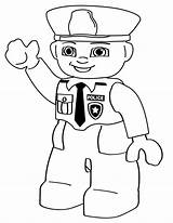 Coloring Police Pages Lego Boys Colouring Printable Sheets Cartoon Cop Cops Person Community sketch template