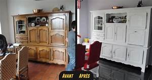 Relooking Meuble Ancien : relooking buffet vaisselier vannes rennes lorient bretagne ~ Melissatoandfro.com Idées de Décoration