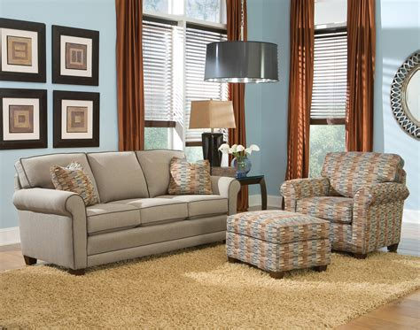 Smith Brothers Recliners by Smith Brothers 366 Stationary Living Room Darvin