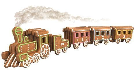 Formahouse   Tescoma: Gingerbread Train Del