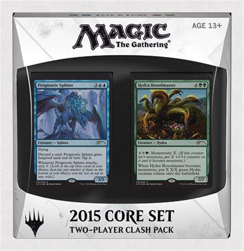 Mtg Deck 2015 by Magic 2015 Clash Pack Magic The Gathering