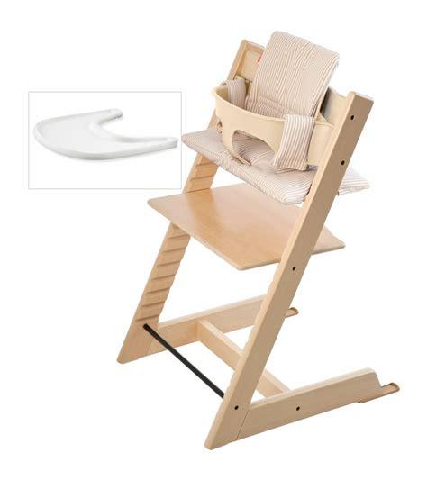 chaise tripp trapp soldes stokke tripp trapp bundle beige stripe