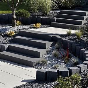 Hauteur Marche Escalier Extérieur : bloc marche blocs marches escaliers les mat riaux ~ Farleysfitness.com Idées de Décoration