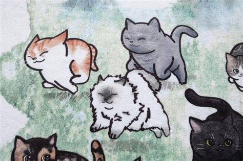 fatty cat drawing  jack cheung kickstarter