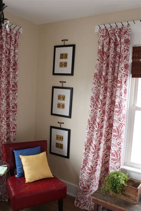 drapes hanging best 25 hang curtains ideas on kitchen blinds