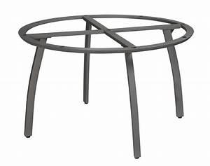 Pied De Table Original : pied aluminium sunset pour plateau diametre 120 gris platinium ~ Teatrodelosmanantiales.com Idées de Décoration
