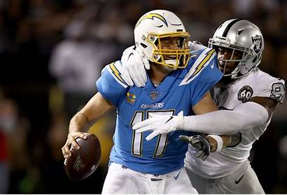 Raiders Chargers Oakland Vs Chiefs Rivers Win
