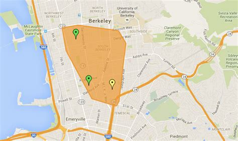 thousands  berkeley oakland hit  power outage