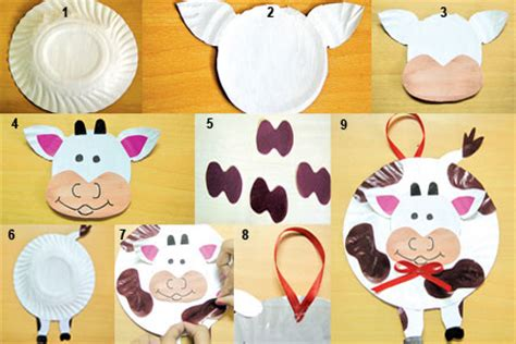 Paper Plate Cow Usefulresults