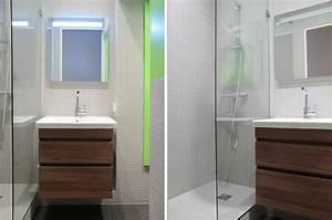 Salle De Bain 3m2 : salle de douche 3m2 plan salle de bain m petite salle de ~ Dallasstarsshop.com Idées de Décoration