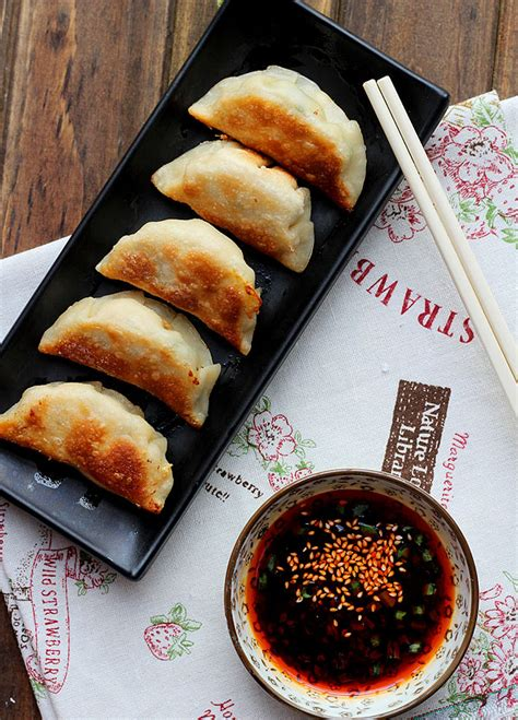 what are pot stickers chinese dumplings and potsticker recipe dishmaps