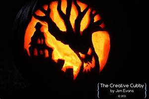 The, Creative, Cubby, Evans, Pumpkin, Carving, 2012