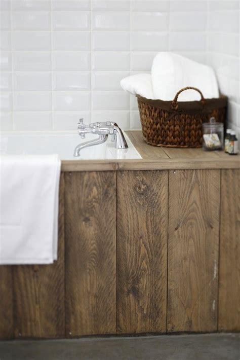 Idée Décoration Salle De Bain  Habillage Baignoire
