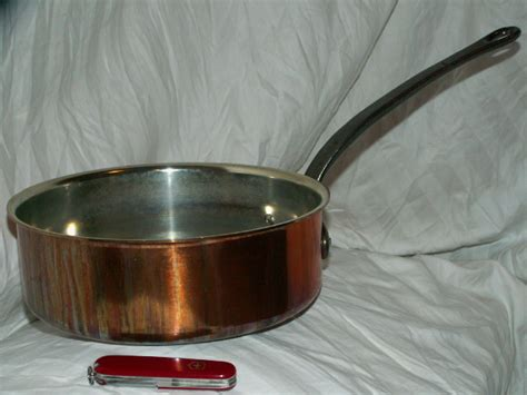 baumalu copper straight side saute pan collectors weekly