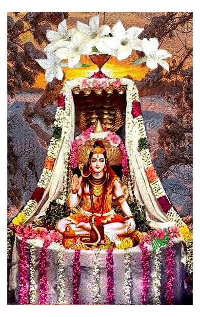 Shiva Pooja Hindu Painting Gods Uploaded