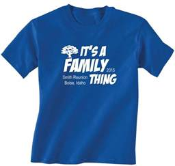 Family Reunion T-shirts Designs