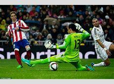 Real Madrid 22 Atletico Madrid agg 24 Fernando Torres