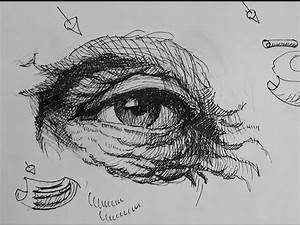 Pen & Ink Drawing Tutorials | How to draw eyes with ...