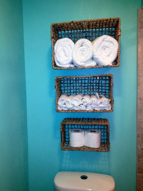 diy bathroom storage    dollar baskets  tj maxx